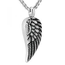 Stainless Steel Angel Wing Pendant