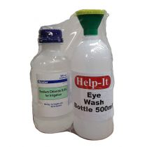 Eye Wash plus Bottle Pack