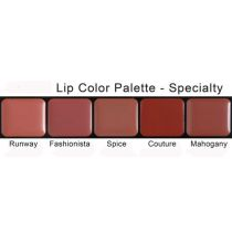Lip Colour Palette 5 Shades, Speciality