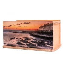 Coastal Sunset Urn