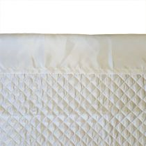 Quilted Polysatin Blanket False Sheet