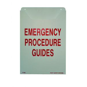 Emergency Procedures Holder