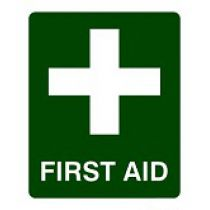 Sign, First Aid - Reflective