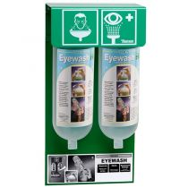 Tobin Eyewash Stand - Stationary, 2 x 1L bottles