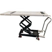 Multi Directional, double scissor body lifter, with hydraulic foot pedal
