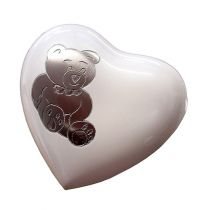 Teddy Bear Heart Keepsake