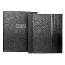 Personalised Remembering Book, Charcoal