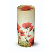 Large Scatter Tube Poppy Field