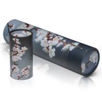 Scatter Tube Grey Cherry Blossom