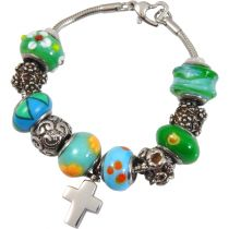 Urn Charm Bracelet - Eternal Green