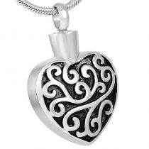 Whispering Heart Stainless Steel Pendant