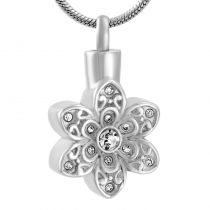 Flower Stainless Steel Pendant