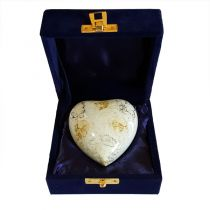 Glenwood White Marble Heart