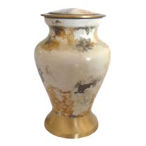 Glenwood White Marble Keepsake
