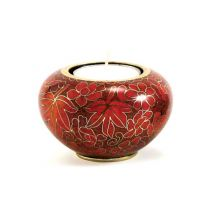 Cloisonne Autumn Leaves Memory Light
