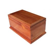 Solid Recycled Timber Designer Urn