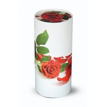 Large Scatter Tube Red Rose